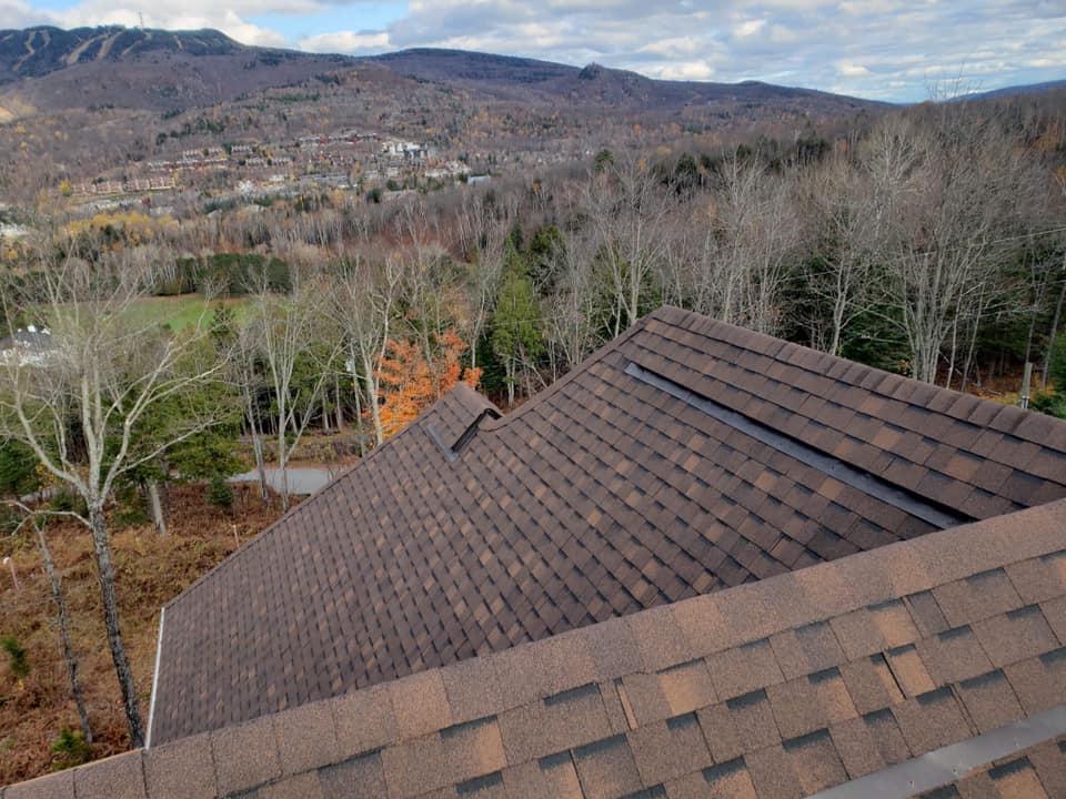 Installation de toiture de bardeau les Laurentides